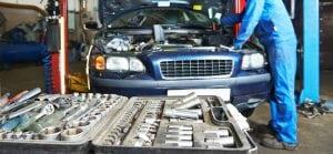 tools to repair a car